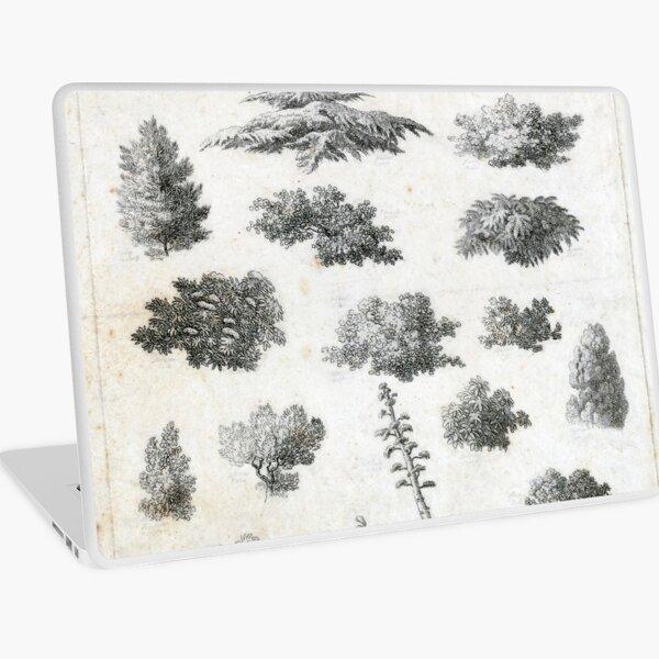 Vintage Foliage Studies Print Laptop Skin