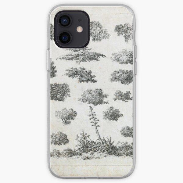 Vintage Foliage Studies Print iPhone Soft Case