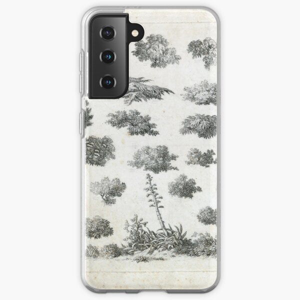 Vintage Foliage Studies Print Samsung Galaxy Soft Case