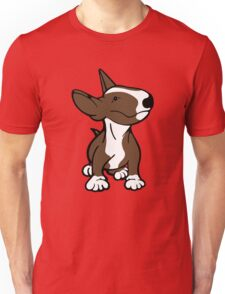 English Bull Terrier Pup Brown  Unisex T-Shirt