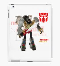 Transformers G1 Grimlock iPad Case/Skin