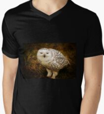Look Deep Into Nature Mens V-Neck T-Shirt