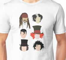 Johnny Depp - Famous Characters Unisex T-Shirt