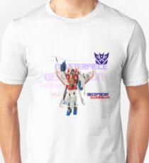 Transformers G1 Starscream Unisex T-Shirt