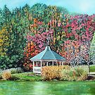 'AFTERNOONS IN BROYHILL PARK' by Jerry Kirk