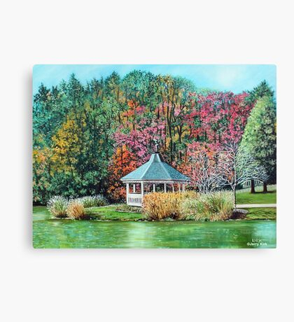 'AFTERNOONS IN BROYHILL PARK' Canvas Print