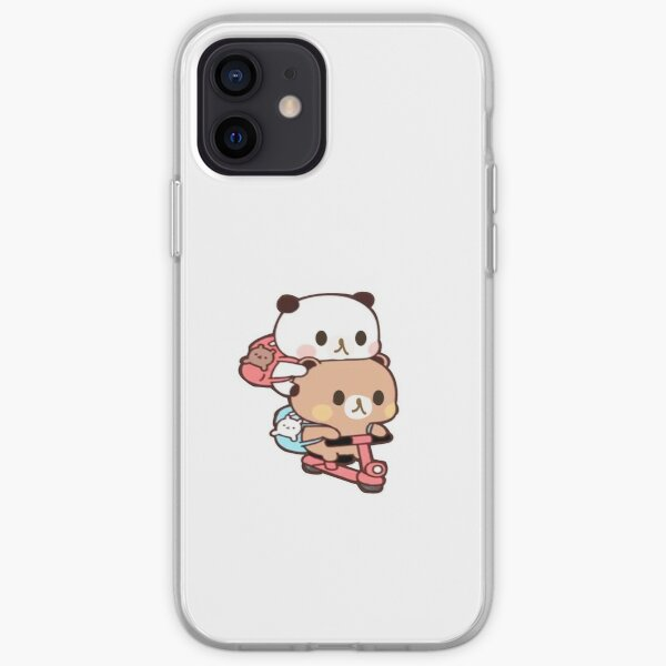 rilakkuma and kaoru kawaii moto stickers iPhone Soft Case