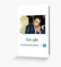 Robert Downey Jr. fangirl edit Greeting Card