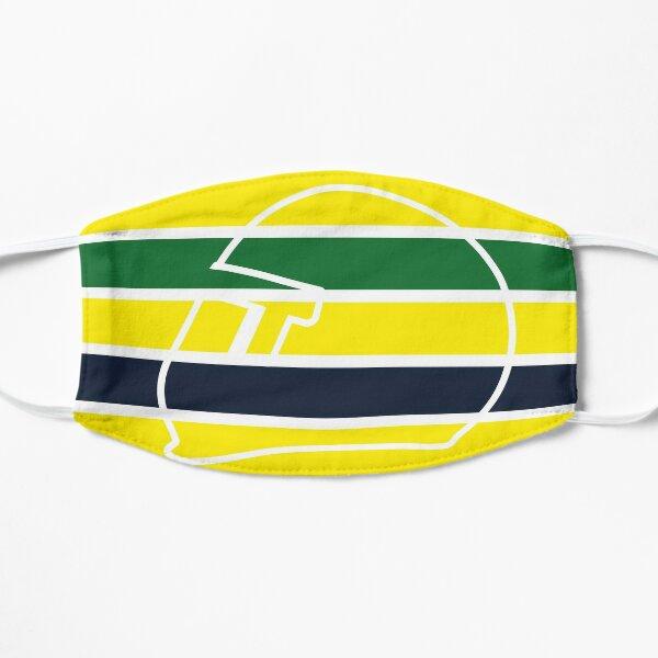 Ayrton Senna Helmet - Formula 1 - The Colors Flat Mask
