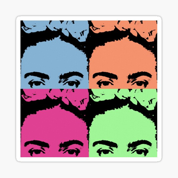 Pop Goes The Frida  Sticker