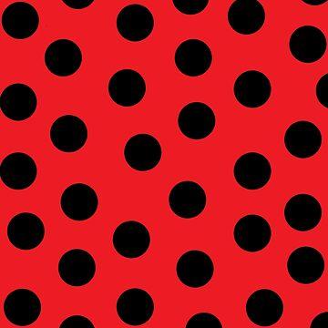 Ladybug Print by LightfulFoxtrot