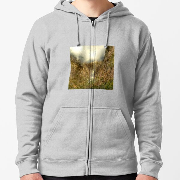 Mount Buffalo Gorge after rain Zipped Hoodie