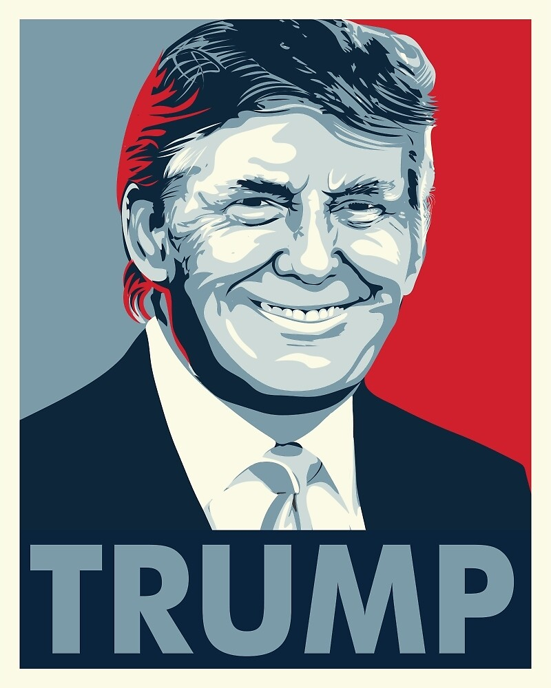 Donald Trump by rightposters