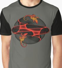 Fractal Gecko Graphic T-Shirt