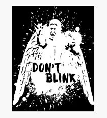 Doctor who - Don't Blink  Photographic Print