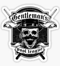 Pegatina Gentleman's Pool League