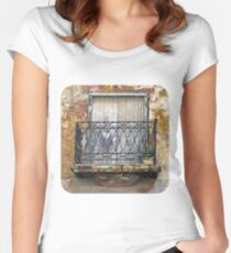 Balcony Women's Fitted Scoop T-Shirt