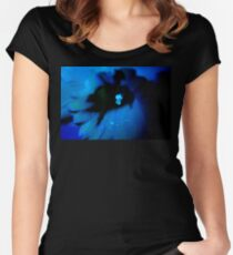 Blue Daffodil. Women's Fitted Scoop T-Shirt