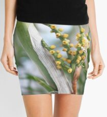 Macro Flowers Mini Skirt
