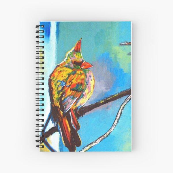 Mr.Cardinal - Cardinal Bird Spiral Notebook