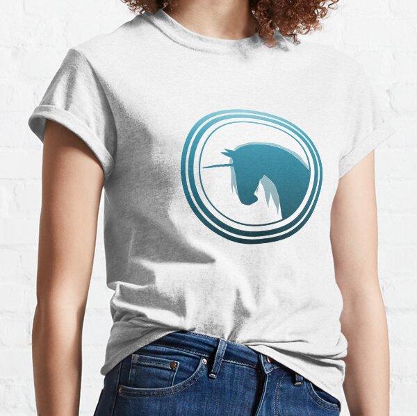 Aqua MONOKERUS Badge Classic T-Shirt