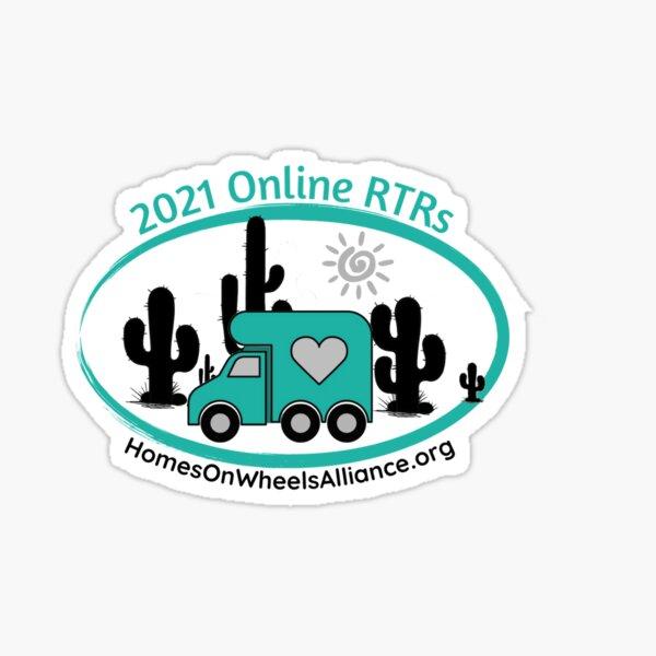 2021 Online Rubber Tramp Rendezvous Sticker