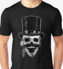 Victorian Skull with Monocle T-Shirt