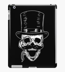 Victorian Skull with Monocle iPad Case/Skin