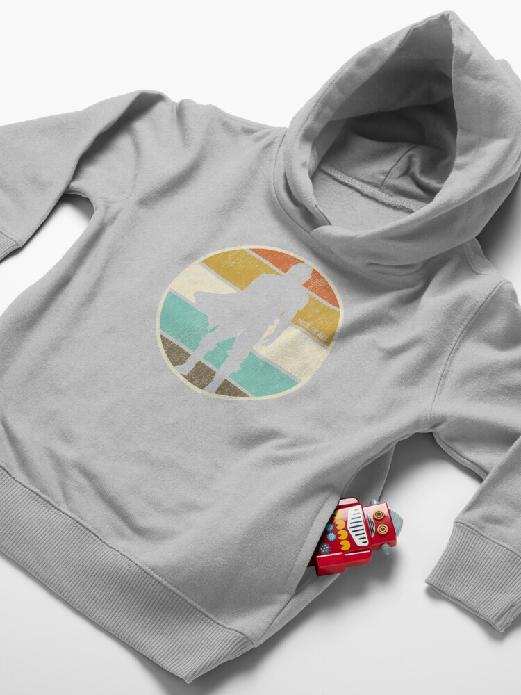 Alternate view of This is the Way Retro Circle Toddler Pullover Hoodie