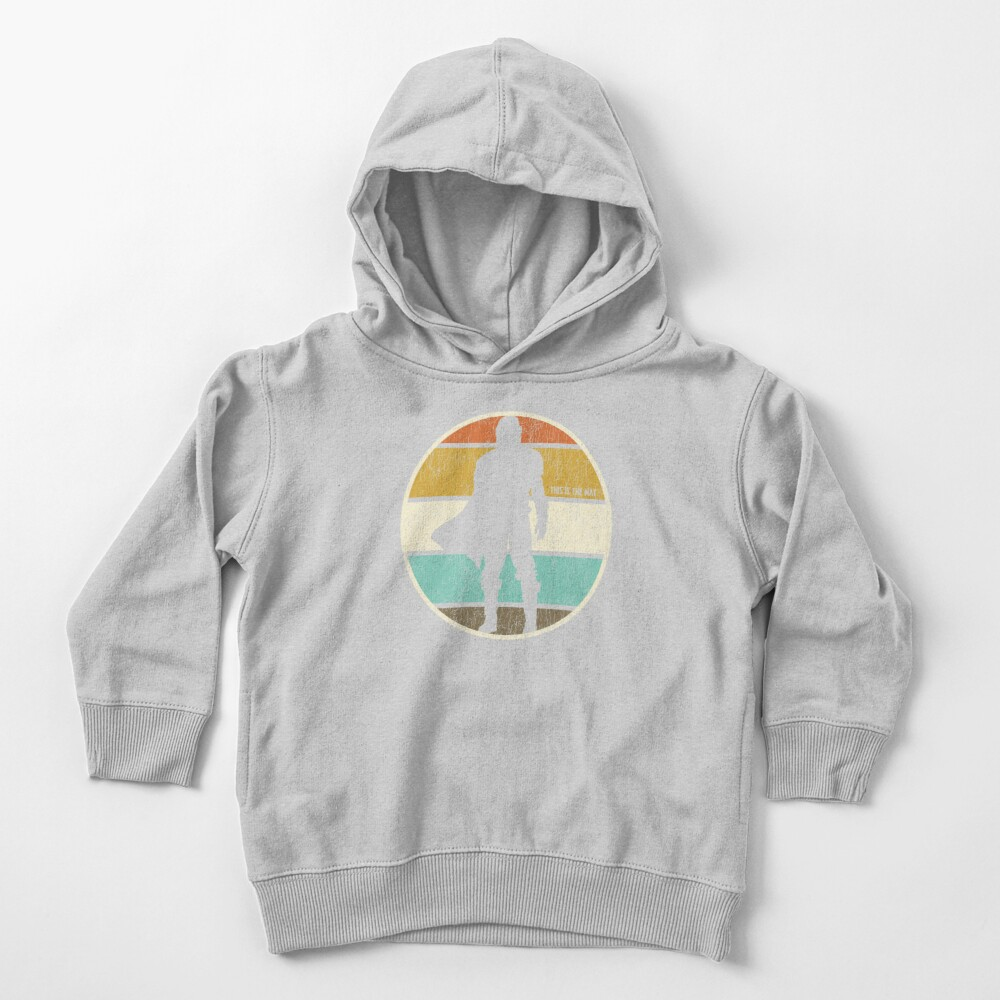 This is the Way Retro Circle Toddler Pullover Hoodie