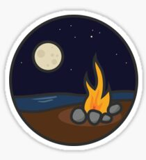 Campfire: Water Series Four Sticker