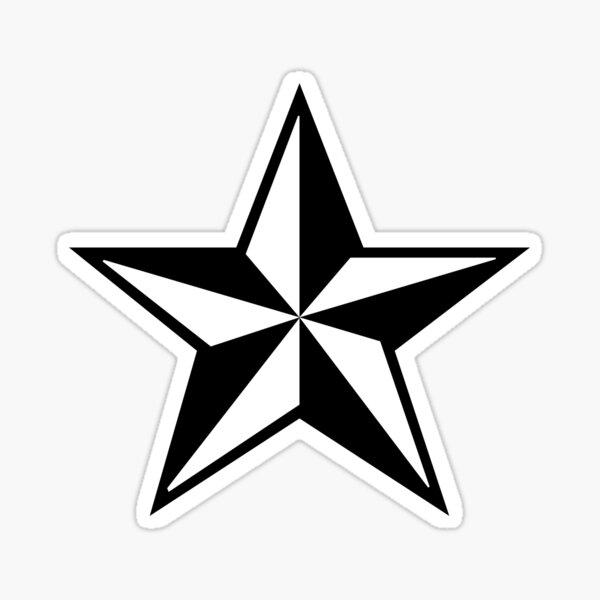Estrella punk Pegatina