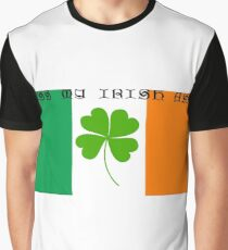 Kiss My Irish A** Graphic T-Shirt