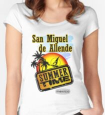 San Miguel de Allende, Mexico Women's Fitted Scoop T-Shirt