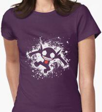 Sableye Splatter Womens Fitted T-Shirt