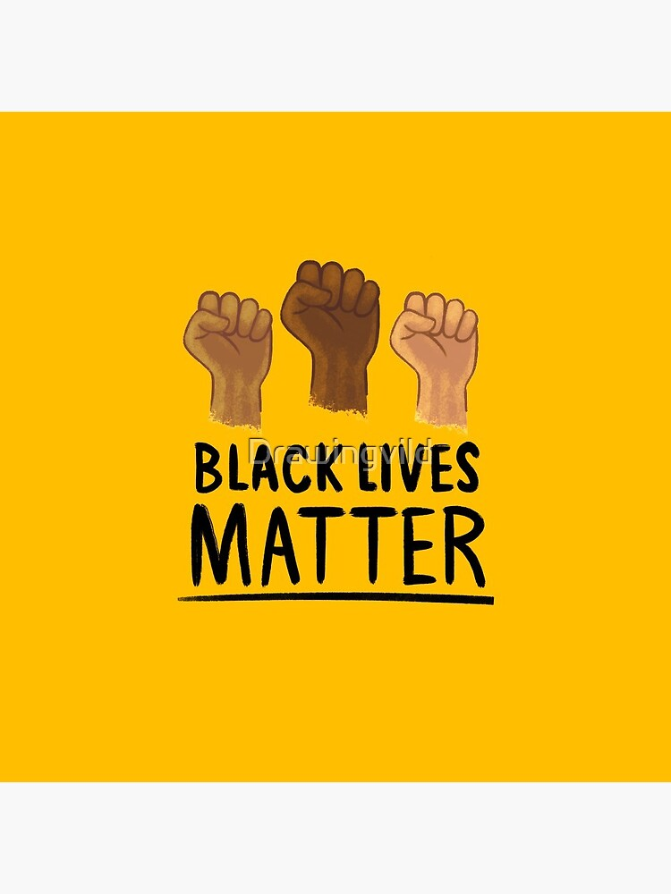 Black Lives Matter / Justice For George Floyd / Racial Justice by Drawingvild
