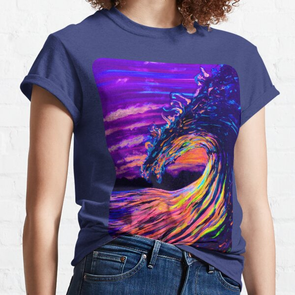 Let the waves hold you Classic T-Shirt