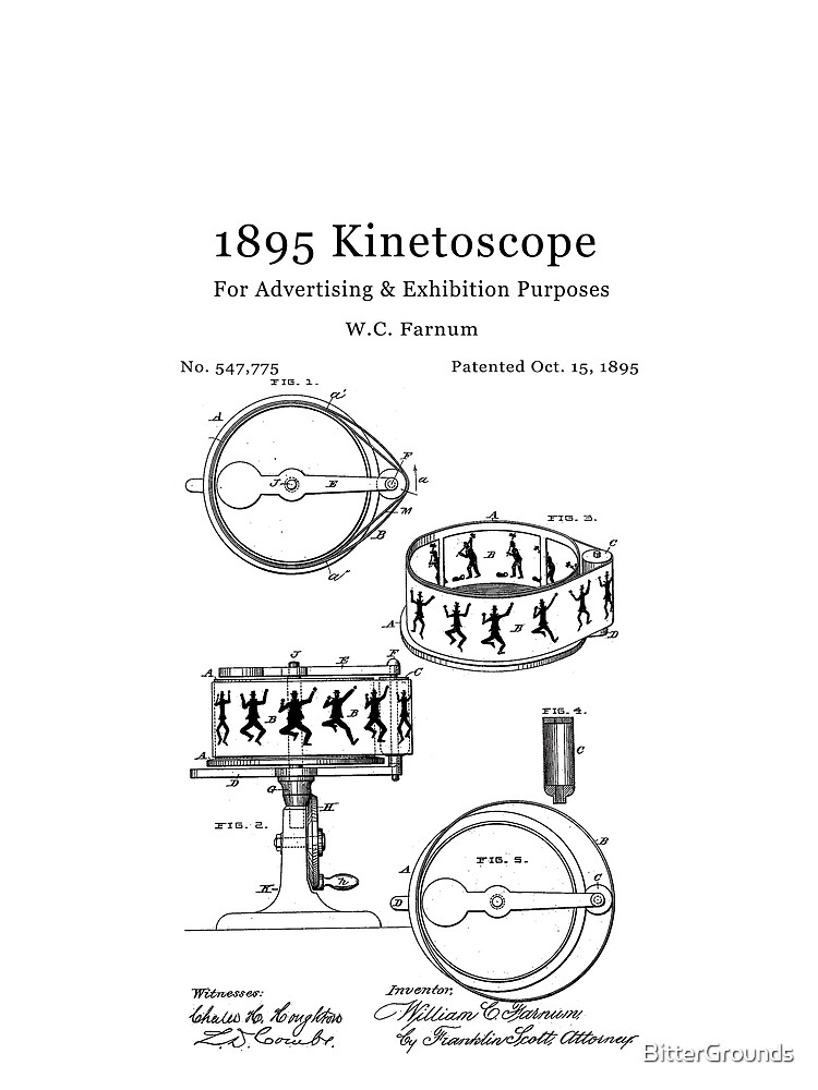 1895 Kinetoscope - Antique cameras and film by BitterGrounds