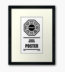 Dharma Initiative Products Framed Print