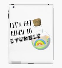Let's Get Ready to Stumble St Paddys Day Apparel iPad Case/Skin