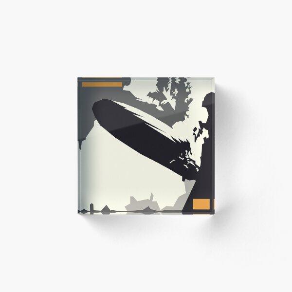 led zeppelin i minimal album cover Acrylic Block