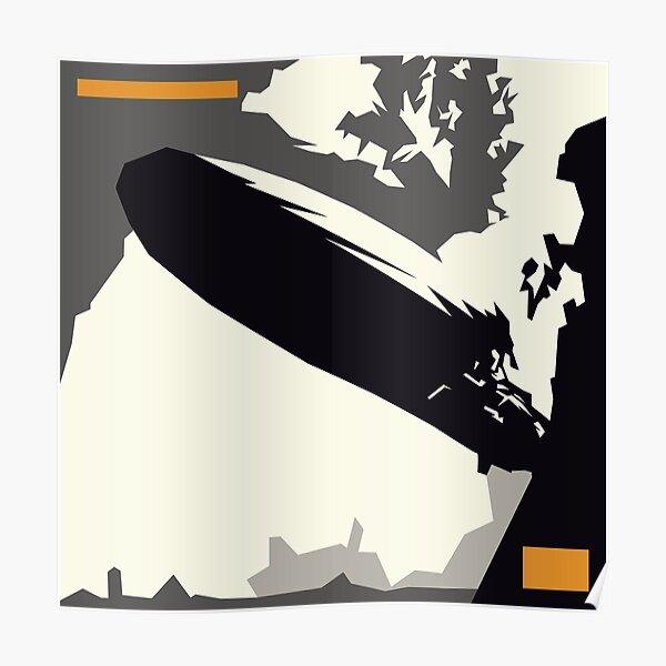 led zeppelin i minimal album cover Poster