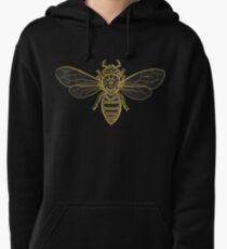 Mandala Bees Pullover Hoodie