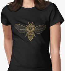 Mandala Bees Women's Fitted T-Shirt