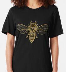 Mandala Bees Slim Fit T-Shirt