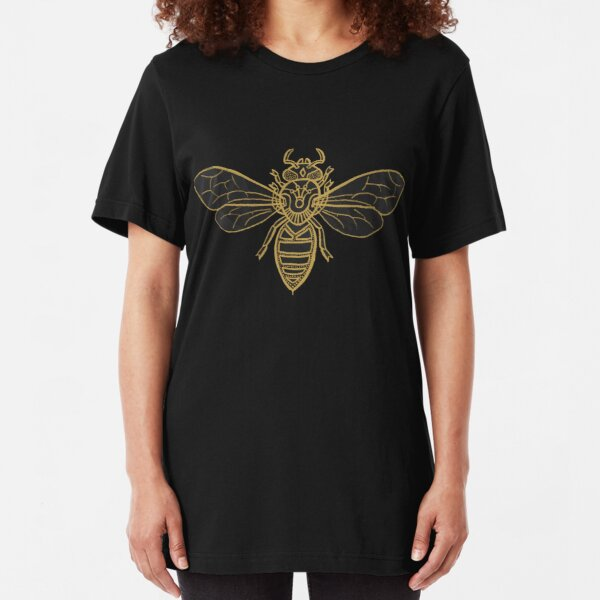 Mandala Bees Slim Fit T-Shirt