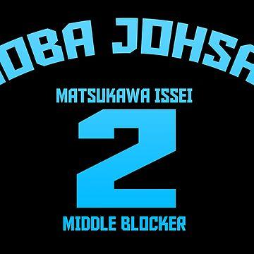 Aoba Johsai 2 - Matsukawa Issei by xAmalie