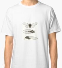 3 sepia Cicadas Classic T-Shirt