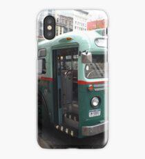 Vintage 1958 Bus, New York Transit System, Herald Square, New York City iPhone Case