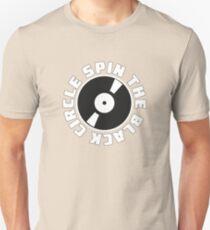SPIN THE BLACK CIRCLE RECORD LOGO Unisex T-Shirt